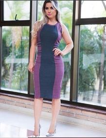 Vestido Feminino Moda Social Evangélica Secretaria Oferta