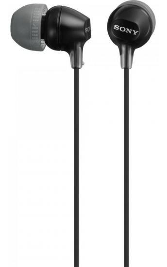 Fone De Ouvido Intra-auricular Mdr-ex15lp Preto Sony