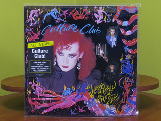 Culture Club - Waking Up With The House On Fire - Lp Usa