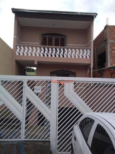 Sobrado Com 3 Dormitórios À Venda, 252 M² Por R$ 450.000,00 - Parque Flamengo - Guarulhos/sp - So0034