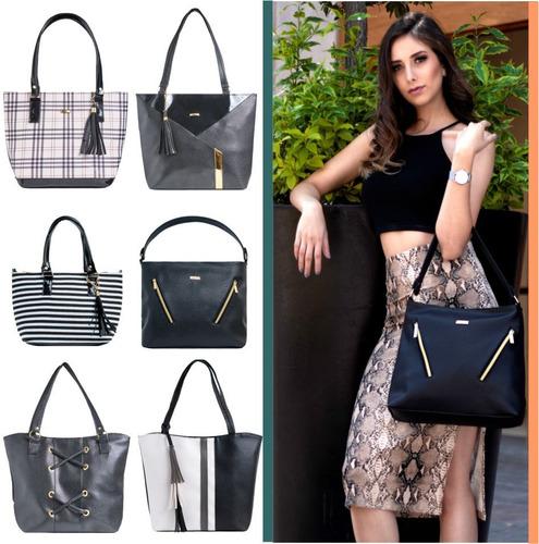 Imagen 1 de 10 de Paquete 5 Bolsas Dama #1  Bolsos Moda Y Mayoreo+envío+regalo