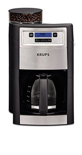 Krups Km785d50 Cafetera + Molino De Cafe Electrico 10 Tazas