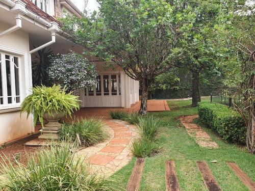 Imponente Sobrado Para Venda No Alto Da Boa Vista, Ideal Para Comercio, 4 Suites, Varanda Gourmet E Piscina Em 1.352 M2 Terreno E 677 M2 Construidos - Ca01592 - 68909209
