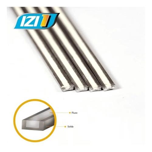 Imagem 1 de 7 de Vareta Solda Alumínio X Cobre Modelo Izi 1 10n