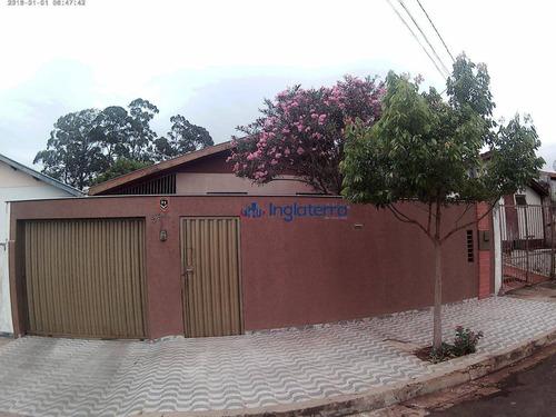 Casa Com 3 Dormitórios À Venda, 120 M² Por R$ 300.000,00 - João Paz - Londrina/pr - Ca1081