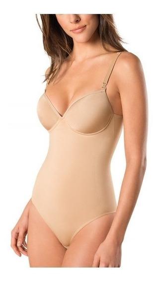 Body Modelador Com Bojo Slim Sem Costura Lupo