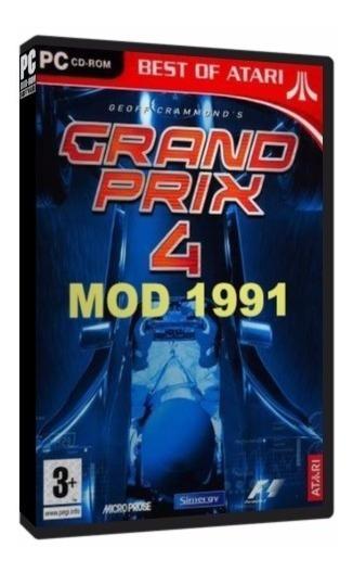 Grand Prix 4 (temporada 1991) - Pc Dvd - Frete 8 Reais