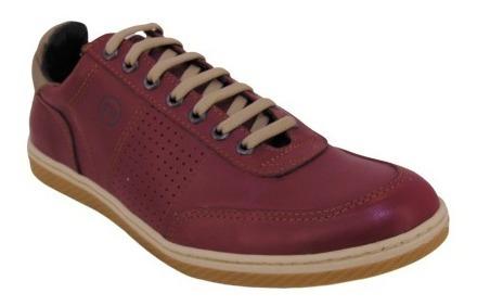 Zapatillas Zapatos Urbanos Foot Notes Hombre 100% Cuero Art. 1290 Varios Colores