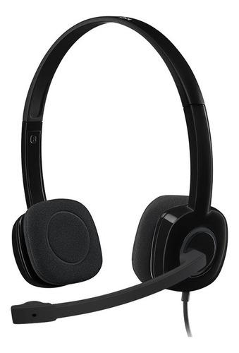 Auricular Logitech Stereo H151 Cableado 981-000587