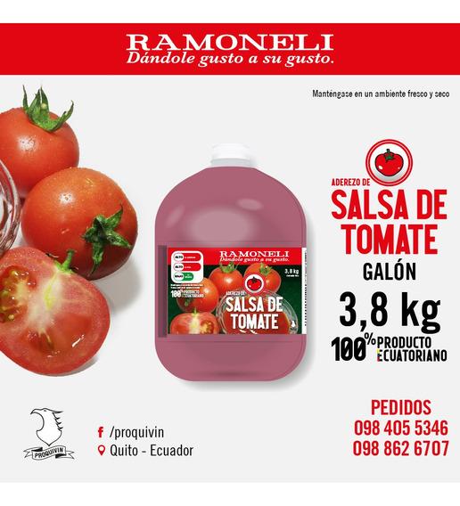 Galones Salsa De Tomate Ramoneli