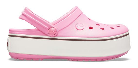 Crocs Crocband Platform Rosa Nene Nena