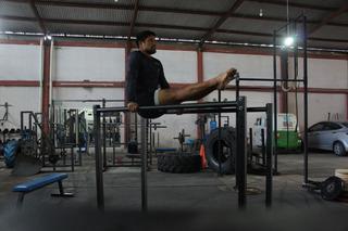 Barras Paralelas Ajustable Gimnasia Crossfit Calistenics Gym