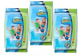 Kit 3 Fralda Descartável Little Swimmers Disney P