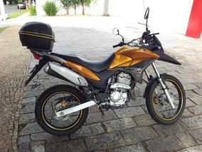 Moto Honda Xre 300 Ano 2010 Dourada 24.800km Gas.ipva Pago