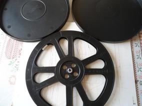 Estojo E Carretel Para Filme 16mm Em Plástico 2000 Pés!