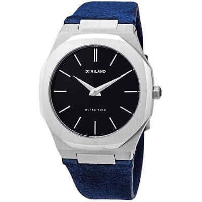 D1 Milano Ultra Thin Black Dial, Reloj Para Hombre A-ut03