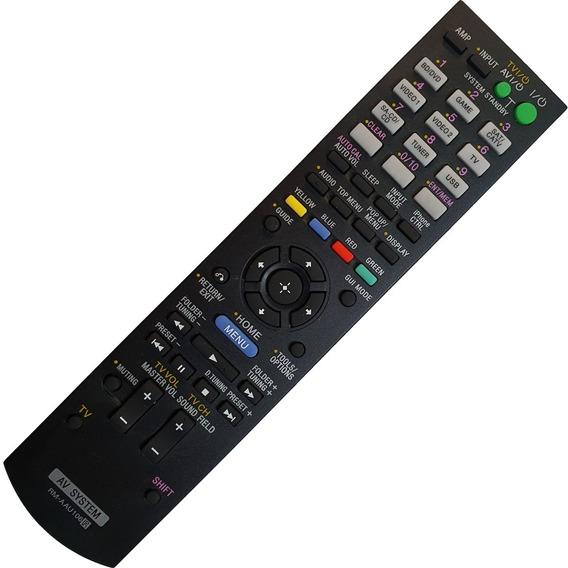 Controle Remoto Receiver Sony Rm-aau106 Str Dh, Dg E Dn Novo
