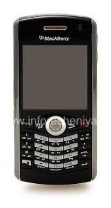 Carcasa Blackberry Perla 8100 + Trackball Bolita