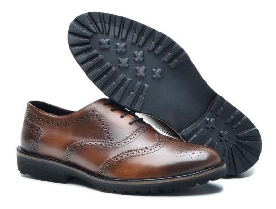 Sapato Masculino Social Tamanho Especial 37x49 Casual Couro Legitimo Nobre Classico Muito Luxo Promoçao Oferta Top