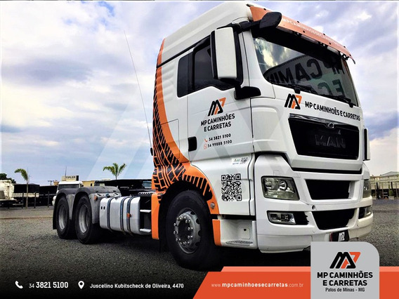 Caminhão Man 29.440 Tgx 6x4 Ano 2012