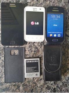 Peças Celulares Samsung Galaxy Sii Lite, Gt-s6810 E Lg E435