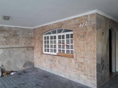 Sobrado Com 4 Dormitórios Para Alugar, 250 M² Por R$ 4.000/mês - Parque Novo Mundo - São Paulo/sp - So0192