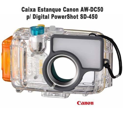 Caixa Estanque Canon Aw-dc50 P/ Digital Powershot Sd-450