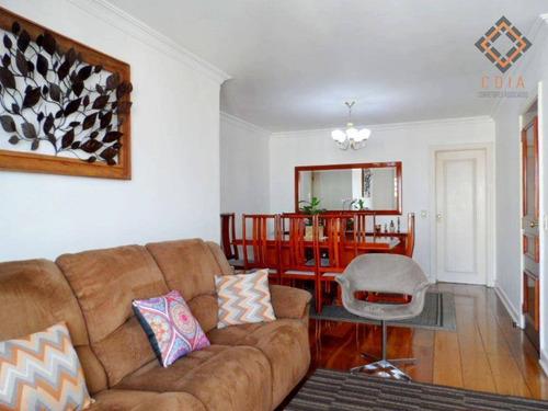 Apartamento 104 M², Com 3 Dormitórios Sendo 1 Suíte, 2 Vagas, Sacada, R$ 1.015.000,00 - Ap38460