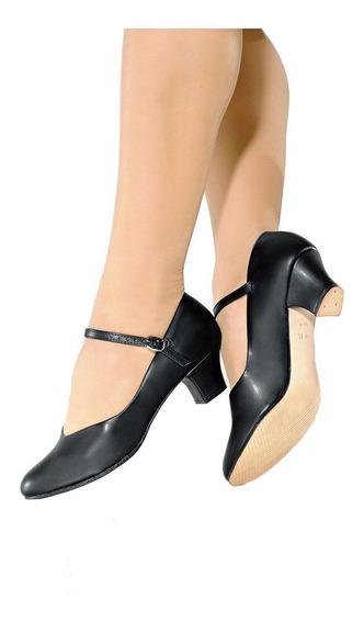 Sapato Dança De Salão Só Dança Napa Salto 5cm Ch52 P.entrega
