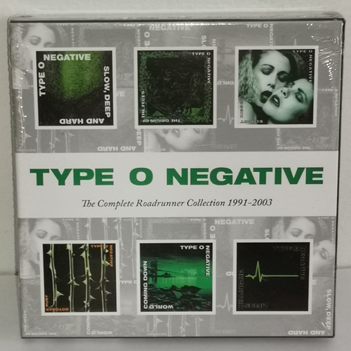 Type Or Negative The Complete Roadrunner Collection Cd Nuevo