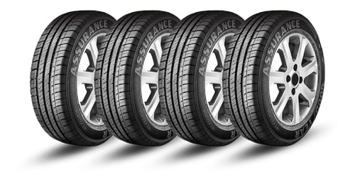Kit X4 - Goodyear 175/65 R14 Assurance - Vulcatires
