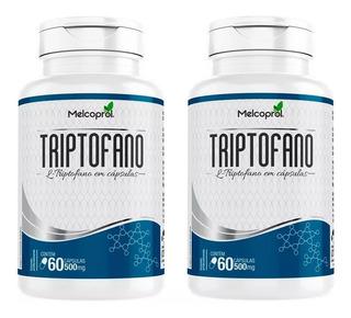 Triptofano 500mg - 2x 60 Cápsulas - Melcoprol