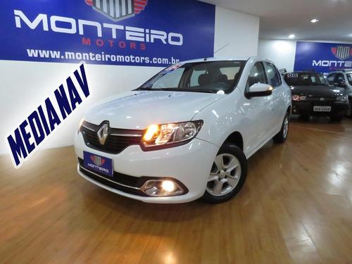 Renault Logan 1.6 Dynamique Flex Top De Linha Só 55.100 Km