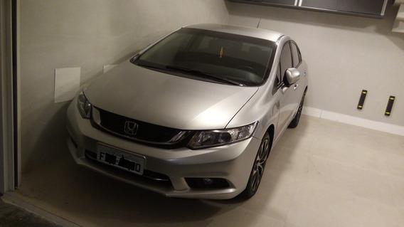 Honda Civic Lxr 2.0 2015 Automático Rodas 17 Baixo Km Top