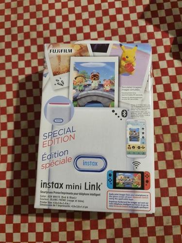 Imagen 1 de 2 de Fujifilm Impresora Instax Mini Link Nintendo Edición Especia