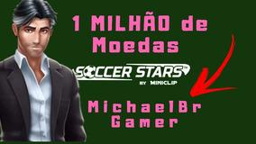 1 Milhão De Moedas Soccer Stars