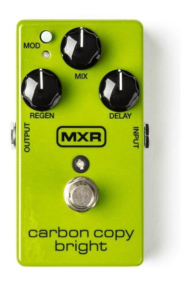 Pedal Delay Mxr Analog Delay Carbon Copy Bright M269se
