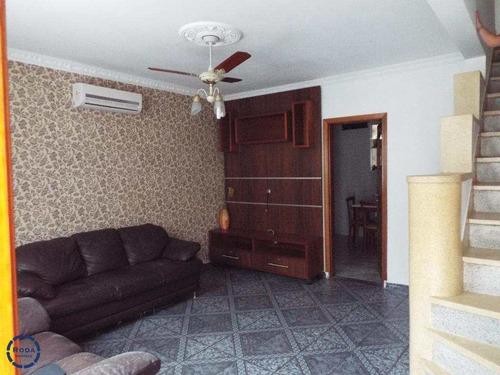 Sobrado De Condomínio Com 2 Dorms, Boqueirão, Santos - R$ 420 Mil, Cod: 11781 - V11781