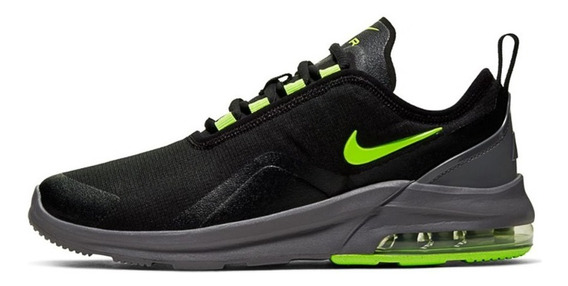 Tenis Nike Air Max Motion 2 Gs Mujer Negro Gris Aq2741-011