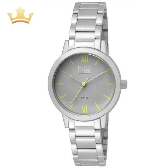 Relógio Dumont Feminino Du2035lui/3v Com Nf