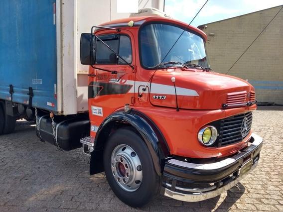 Mb 1113 Trucado Ano 81 Caminhão Sem Detalhes Com Manual