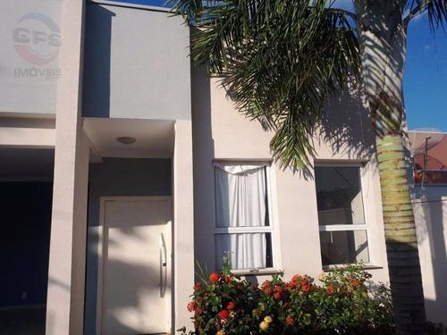 Casa Com 3 Dormitórios À Venda, 147 M² Por R$ 570.000,00 - Jardim Bela Vista - Indaiatuba/sp - Ca8173
