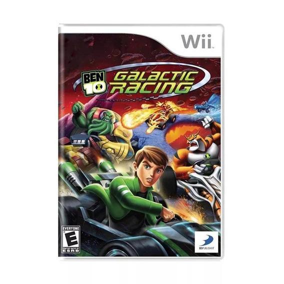 Jogo Lacrado Para Nintendo Wii Ben 10 Galactic Racing
