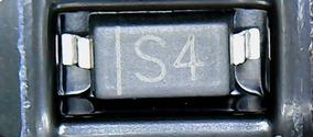 5x Diodo Smd S4 - In5819 1n5819w B5819w