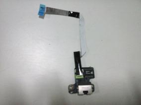 Conector De Rede Cabeada Do Netbook Toshiba Satélite T115