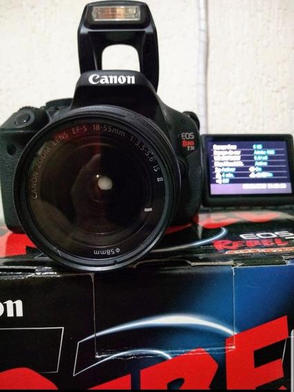 Câmera Canon 600d Rebel T3i