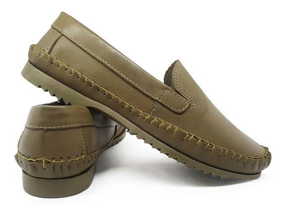 Mocassim Masculino Sapato Em Couro Animal Original Com Nf