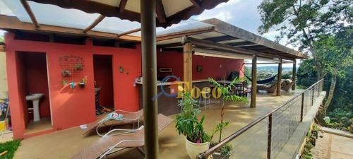 Chácara Com 5 Dormitórios À Venda, 1000 M² Por R$ 480.000,00 - Portal São Marcelo - Bragança Paulista/sp - Ch0223