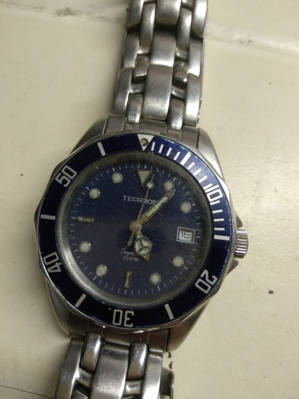 Relógio Technos Imperial Azul 10 Atm