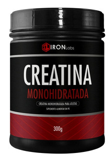3 Creatina Monohidratada 300g (total 900g) Iron Labs